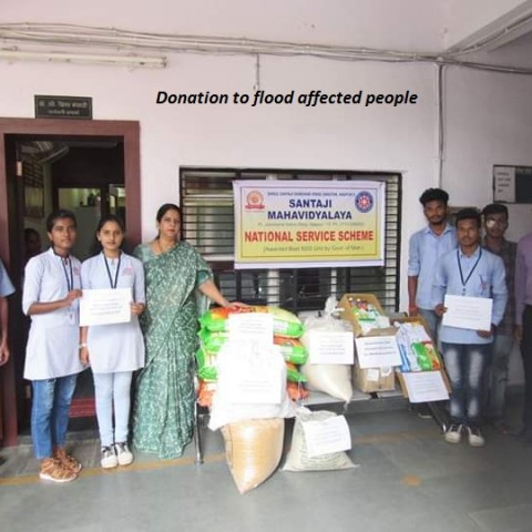 Donation to flood affected people-2019