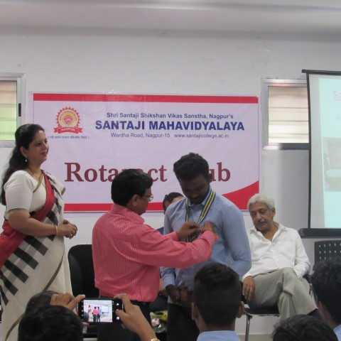 Installation Ceremony of Rotaract Club-2019-20