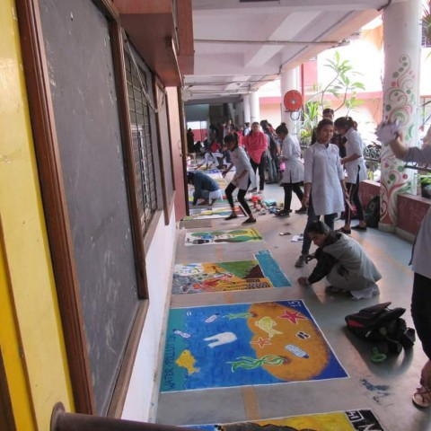 Rangoli Competition 2019-20