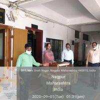 Harmonium Donation to Seva Sarvada Bahuuddeshiya Sanstha